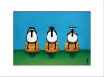 Mervyn Tay - Sheep prints